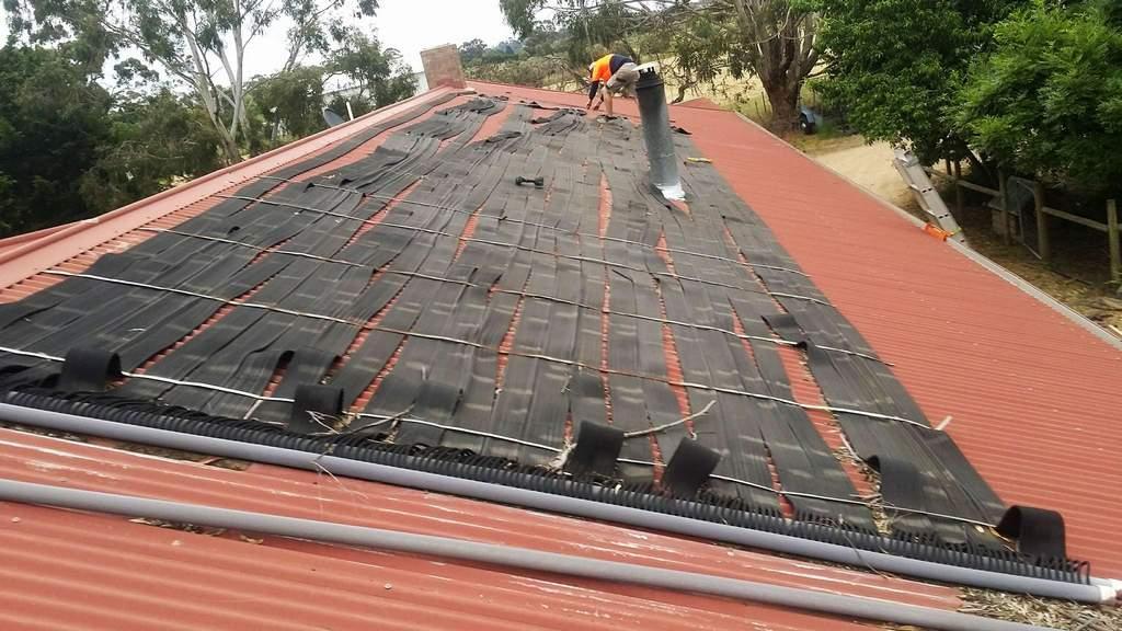 solar swimming pool heater repair
